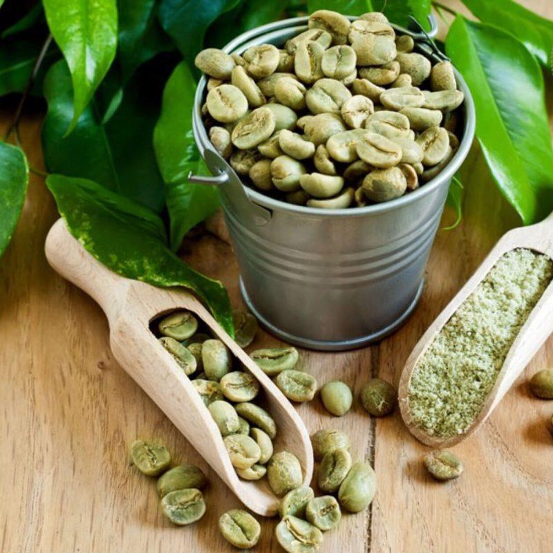 Cà phê nhân xanh đặc sản